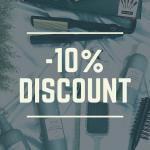 -10% discount curs online